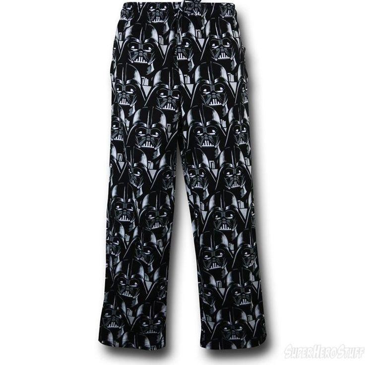 Star Wars Darth Vader Faces Men's Pajama Pants