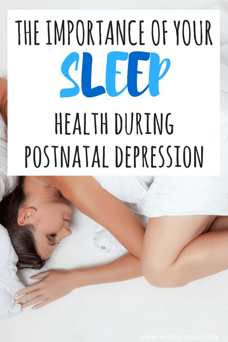The Importance of Your Sleep Health During Postnatal Depression