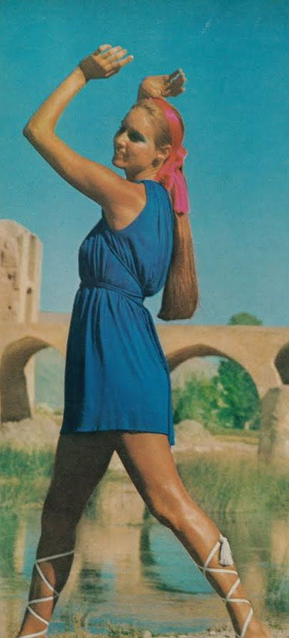 Photographer Henry Clarke for Vogue in Iran, December 1969