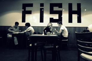 Fish in b/w