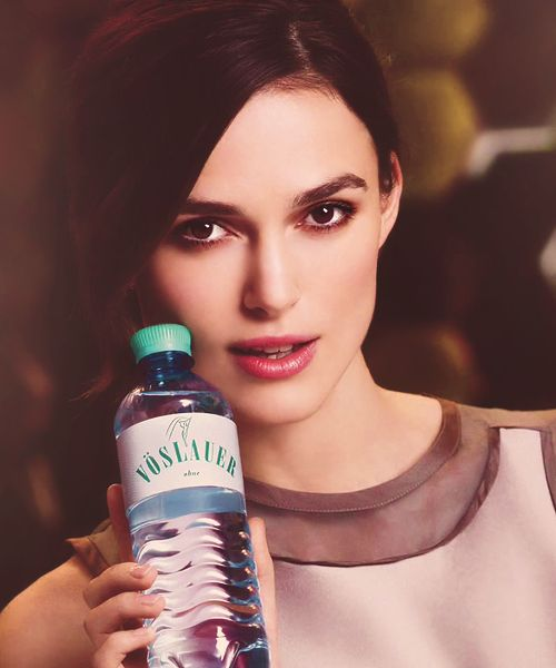Keira Knightley for Vöslauer Water Campaign 2013