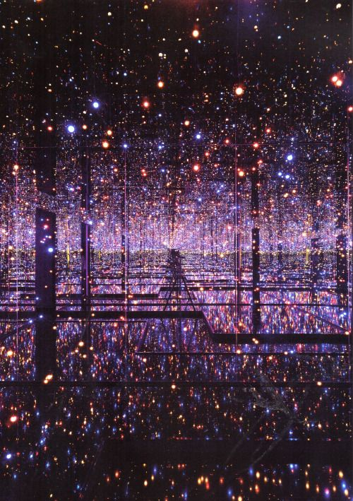 kusama  souls away  shoes infinity     mirrored training of the room deliciousdimension  of best      light millions yayoi years