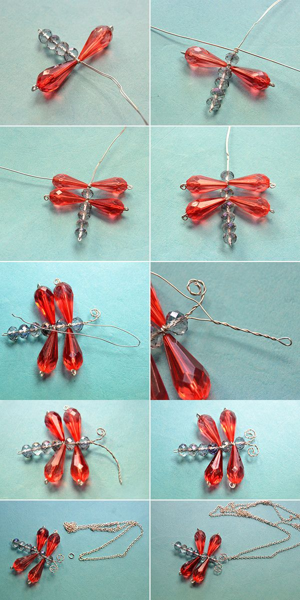 Dragonfly necklace, so cute, right? Then LC.Pandahall.com will publish the tutorial soon.