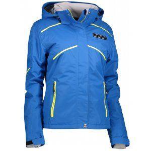 Dámská lyžařská bunda TRIMM GARDENA JEANS BLUE/LEMON
