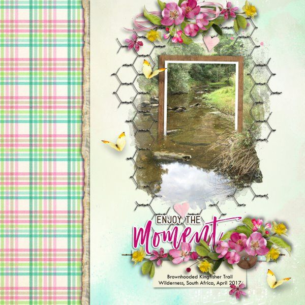 Kit Dawn of Spring by Raspberry Road Designs. Template A Little Bit Arty #9 by Heartstrings Scrap Art. Photo mine.