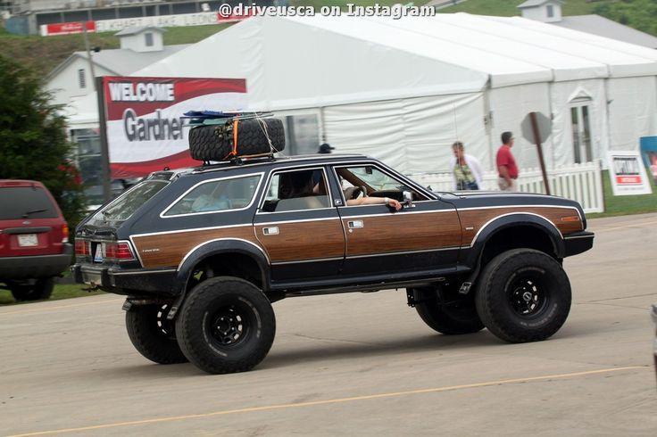 Lifted #AMC Eagle at Road America 2014   Rock Crawlers ...