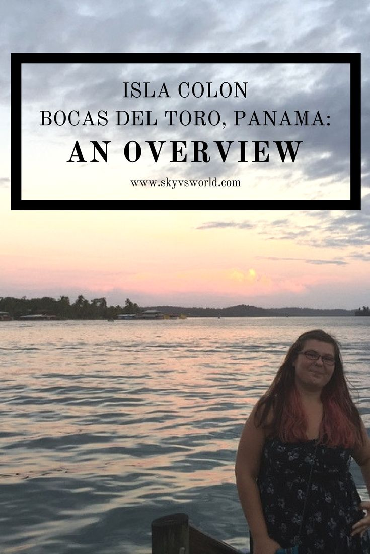 Isla Colon, also known as Bocas Town, is the main island of Bocas del Toro, Panama. Here's what to eat, see, and do while on Isla Colon, Bocas del Toro! // travel tips // panama