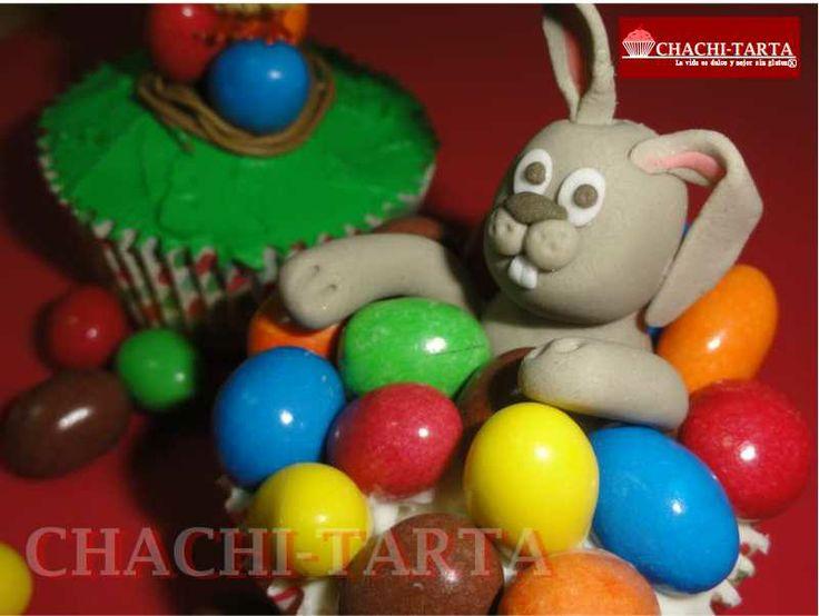 Cupcakes de pascua (sin gluten)
