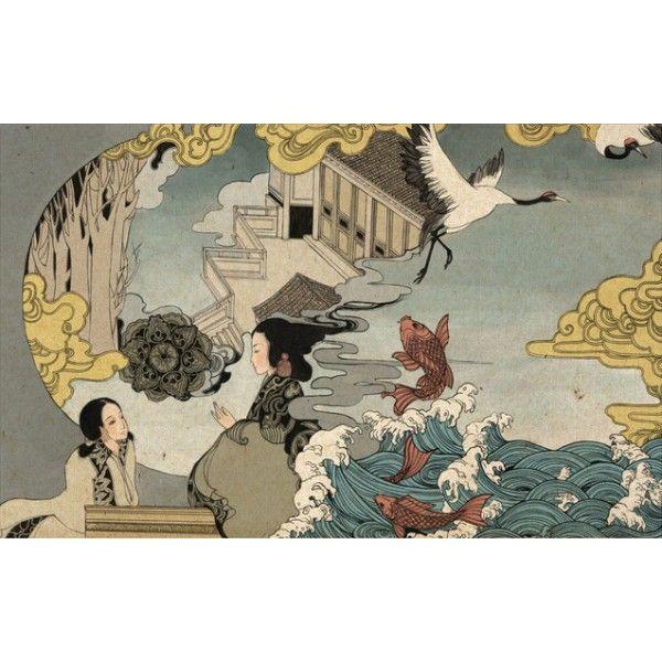 les 16 meilleures images du tableau papier peint japonais. Black Bedroom Furniture Sets. Home Design Ideas