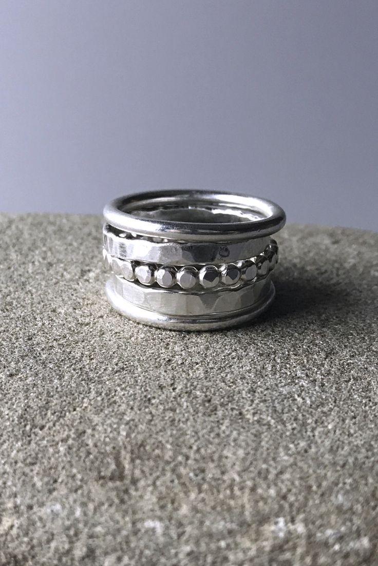5 Piece Stacking ring set