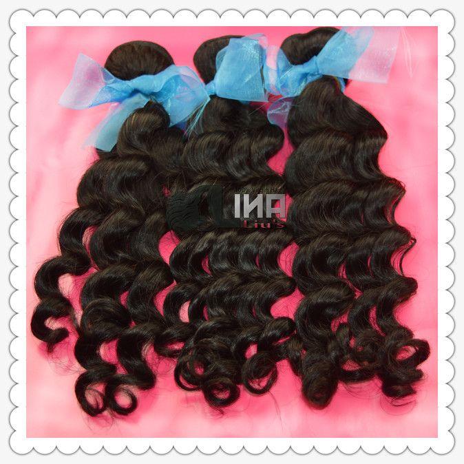 3шт много бразильских натуральные волосы без тары вьющийся человеческий волос соткет лина продукты волос 12 - 28 inch натуральная расцветка
