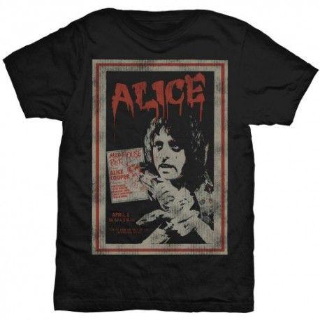 Tricou Alice Cooper: Vintage Poster