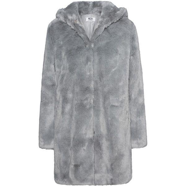 Best 25  Grey faux fur coat ideas only on Pinterest   Grey fur ...