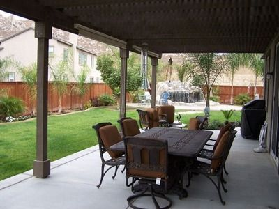back porch decorating ideas | Covered Back Porch Designs | backyard design ideas | For the Home