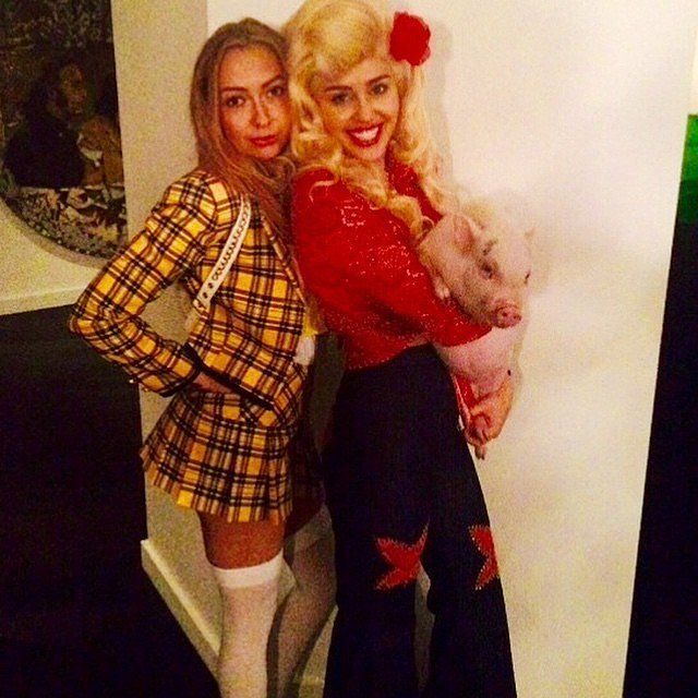 What do you think about Miley Cyrus's latest Halloween costume?