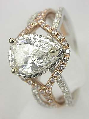 FIRST CHOICE. This is my absolute FAVORITE. Love love love.  I'd even be down with swapping the yellow gold for strawberry gold. Either way I love the accented color gold band against the main white gold bands.