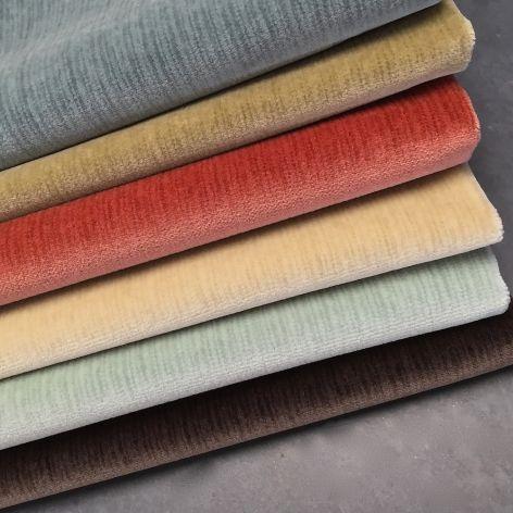 Beautiful range of colours in this luxury velvet.