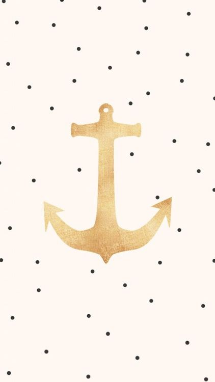 anchors + polka dots
