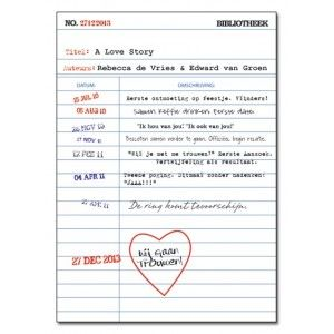 Trouwkaart: A Love Story
