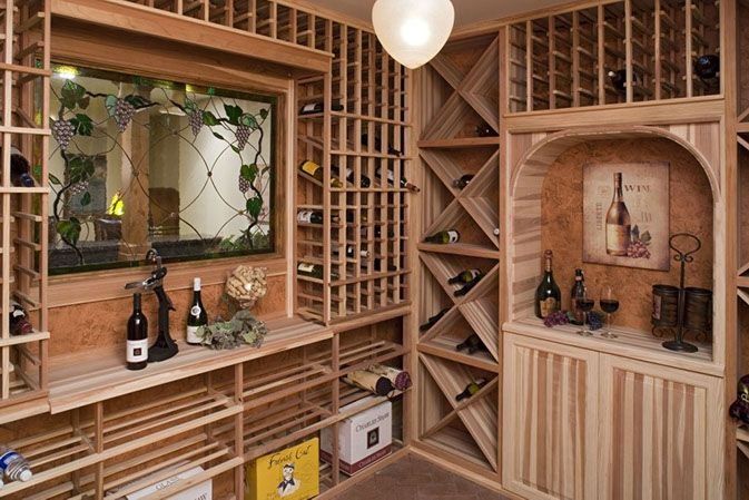 Rec Room With Wine Cellar 69581am: 295 Best Images About Basements, Man Caves & Rec Rooms On