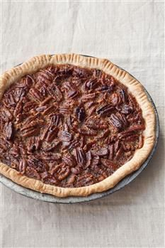Bourbon Maple Pecan Pie---Serve with spiked whipped cream.....Barefoot ...