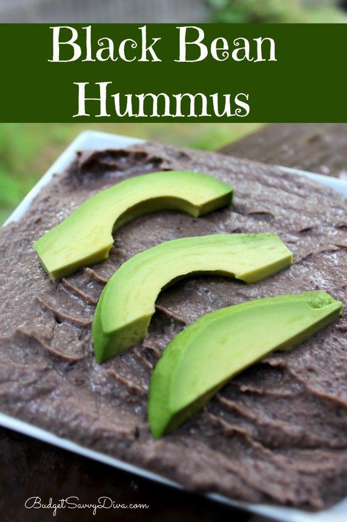 Black Bean Hummus Recipe | Budget Savvy Diva