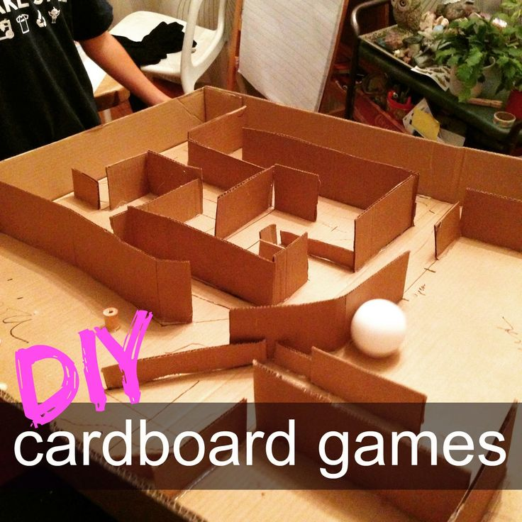 how to build your own arcade game out of cardboard