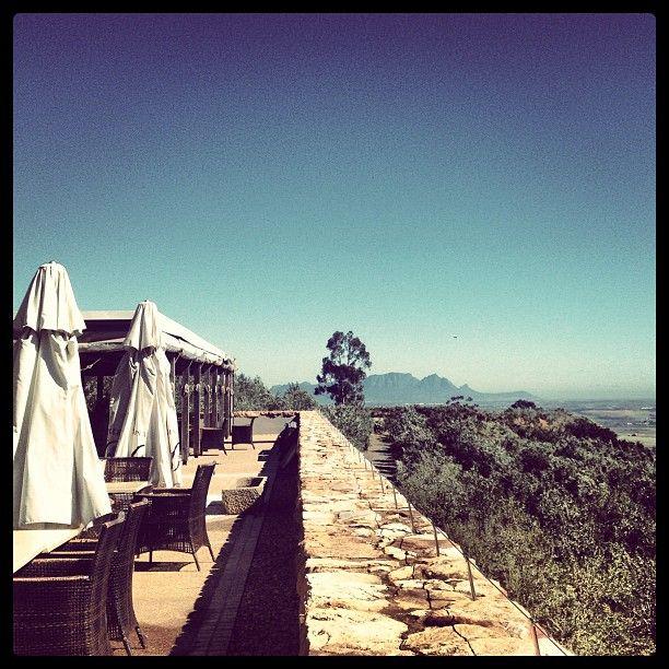 Overture Restaurant at Hidden Valley Wines #bertusbasson #stellenbosch #wine