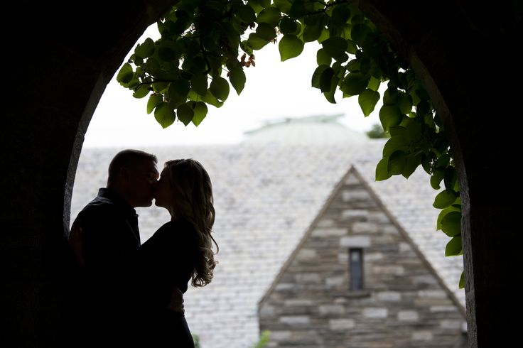 Engagement session at Swarthmore College by Krista Patton Photography