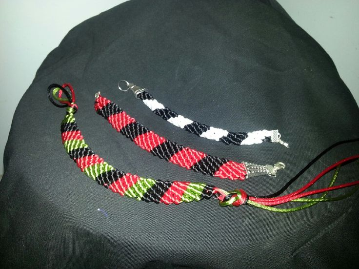 Bracelets made from China Knot. http://www.swannagencies.com.au/shop/category/ribbon-bows-cord