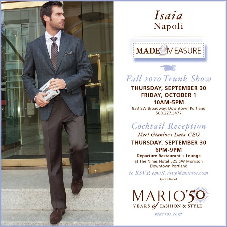 isaia suits & Marios - bring on the bubbles