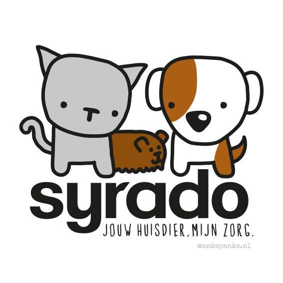 Logo design for Syrado (animal caretaker) by http://ankepanke.nl