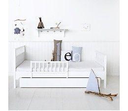 Oliver Furniture Einzelbett 90 x 200 cm, weiss