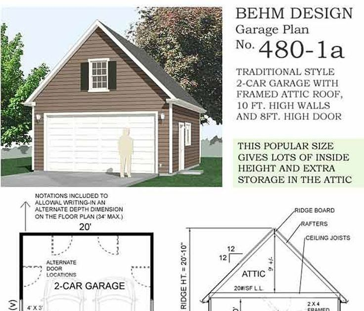 Best Representation Descriptions 2 Car Garage Plans With Loft 20 X 24 Related Searches 20 Garage Plans Detached Garage Building Plans Garage Plans With Loft
