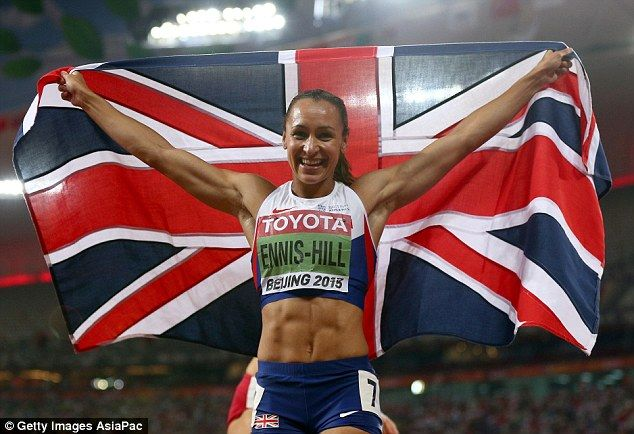 Jessica Ennis-Hill on her amazing six-pack a year after giving birth #dailymail