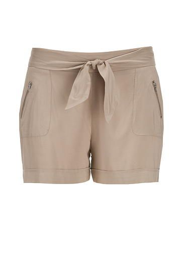 tie front soft shorts (original price, $29) available at #Maurices