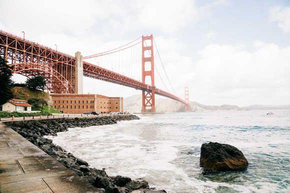 Top 5 Spots To Photograph Golden Gate Bridge News Break Golden Gate Golden Gate Bridge San Francisco Travel