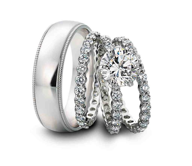 20 best his and hers wedding rings images on Pinterest Wedding
