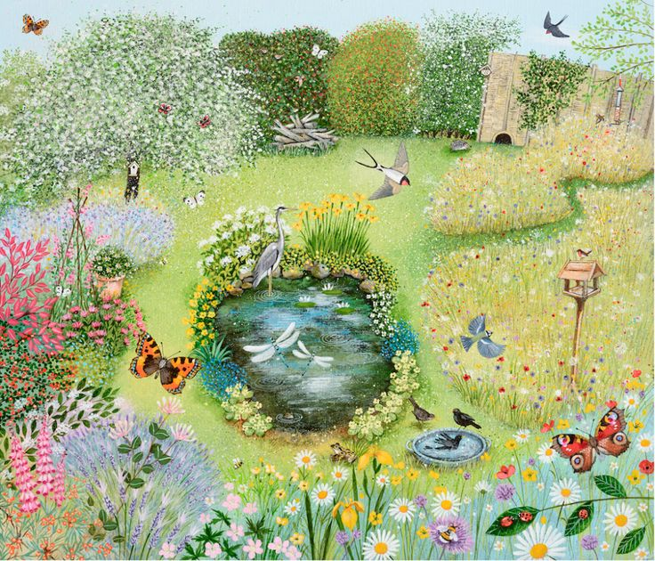 Lucy Grossmith paints all the things that she loves about Suffolk onto block canvas or textured paper with acrylic paints - original painting for sale