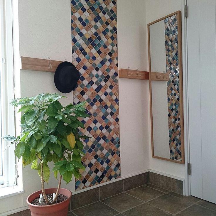 コーヒーの木/横ブレしにくいS字フック/長押/壁につけられる家具/無印良品…などのインテリア実例 - 2016-03-19 23:01:23 | RoomClip(ルームクリップ)