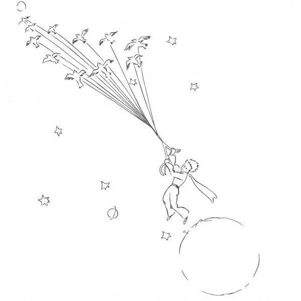 Cahier de Coloriages Le Petit Prince