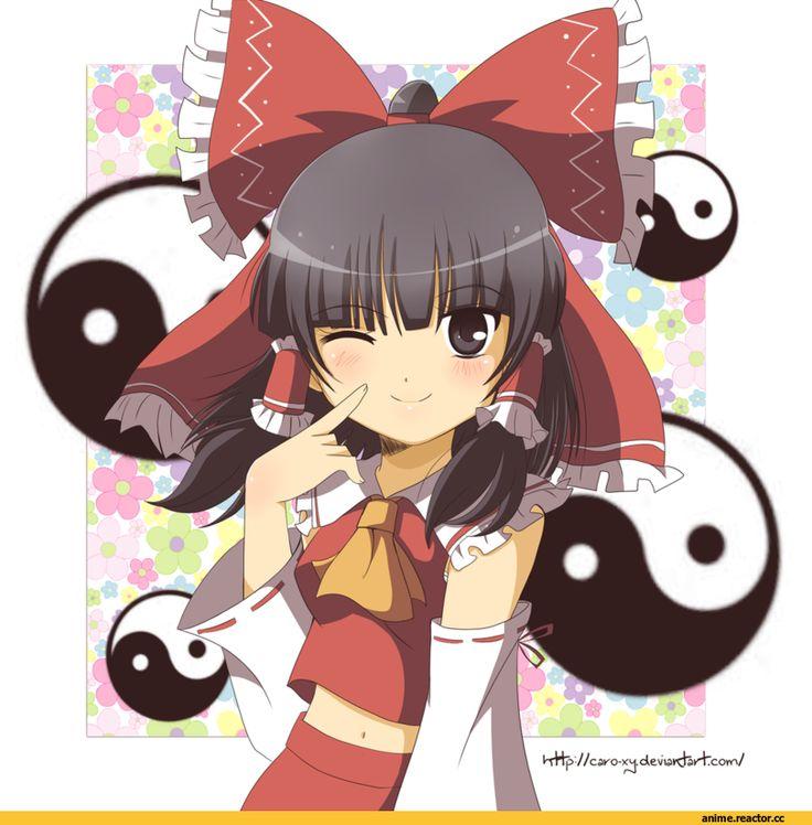Reimu Hakurei,Hakurei Reimu, reimu,Touhou Project,Touhou, Тохо,Anime,Аниме,Caro-XY,Anime Art,Аниме арт, Аниме-арт