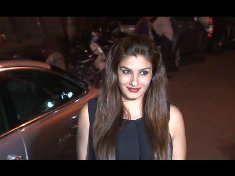 Raveena Tandon at Tanu Weds Manu Returns success party.
