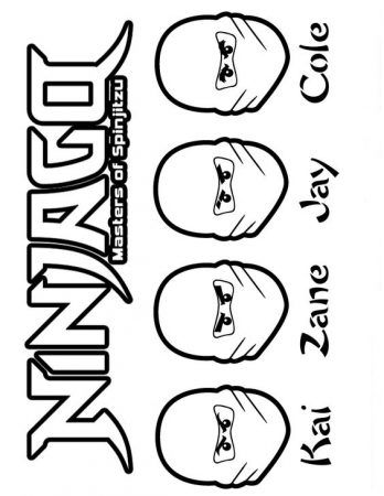 ninjago ausmalbilder ninjago ausmalen coloringpagesforkids kinder painting malvorlagen