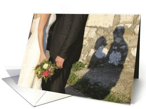 Groundhog Day Wedding Anniversary Humor Shadows card by GCU artist @mind