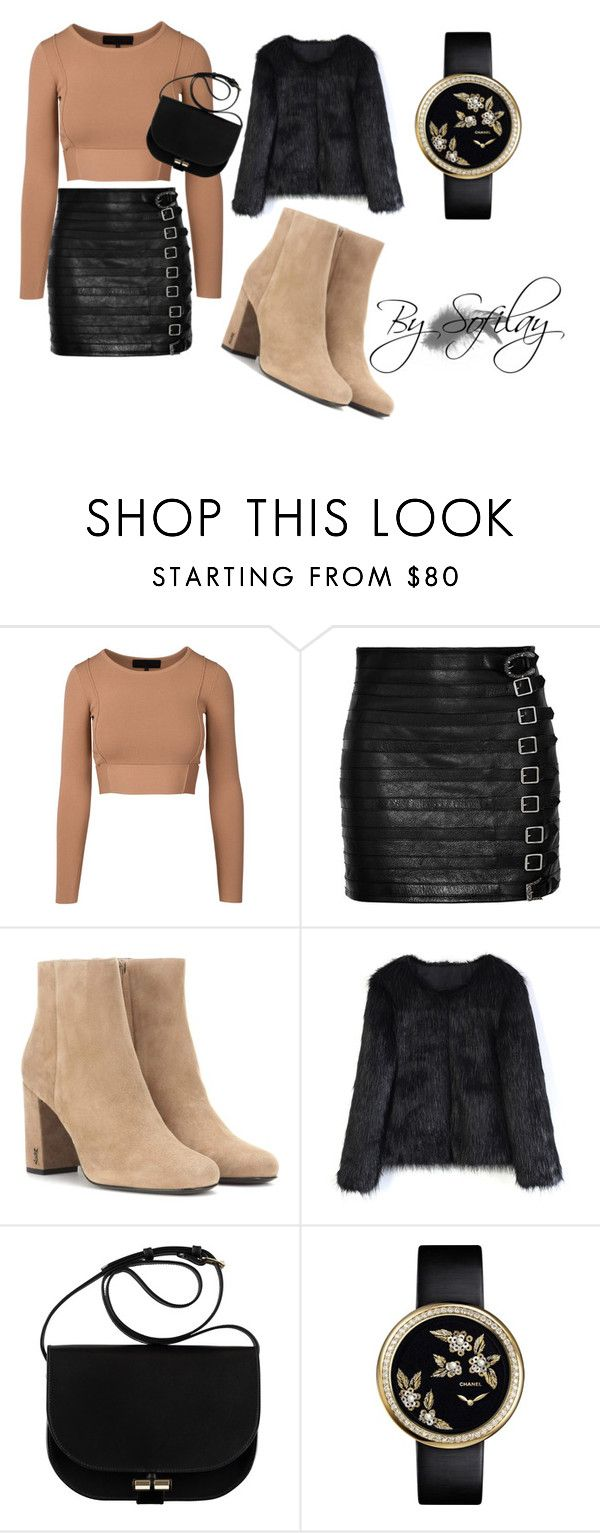 """Zrób to Sam!"" by w-zajac on Polyvore featuring moda, Gucci, Yves Saint Laurent i Chicwish"