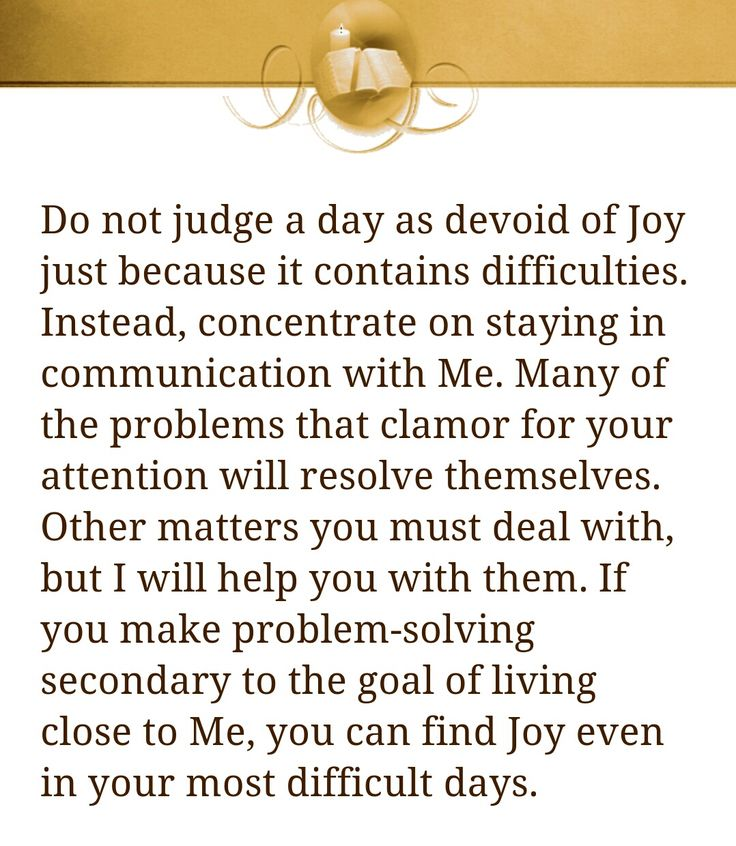 Jesus Calling by Sarah Young - October 5