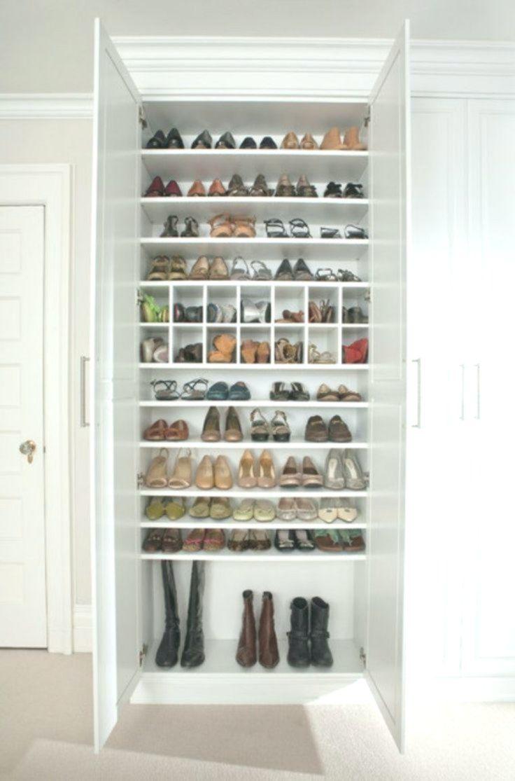 Rangement Chaussures Idees Pour Armoire Et Dressing