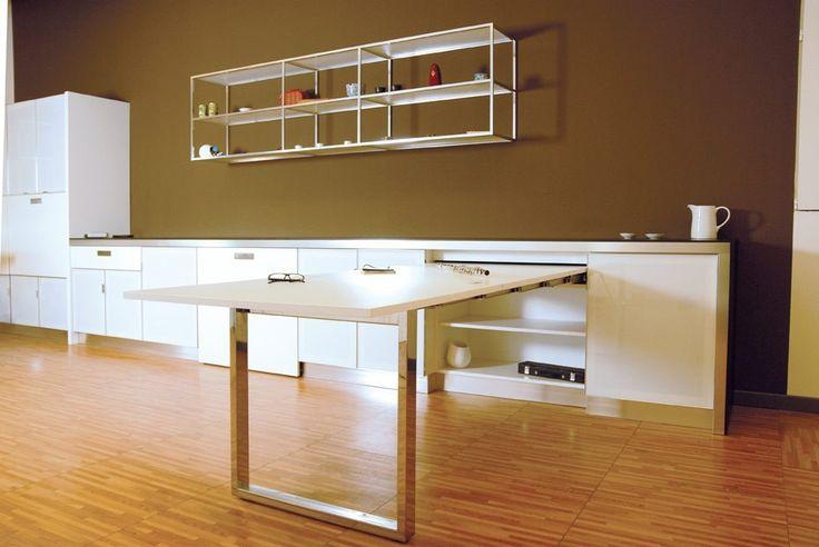 Cucina penisola estraibile (Foto 9/40) | Design Mag