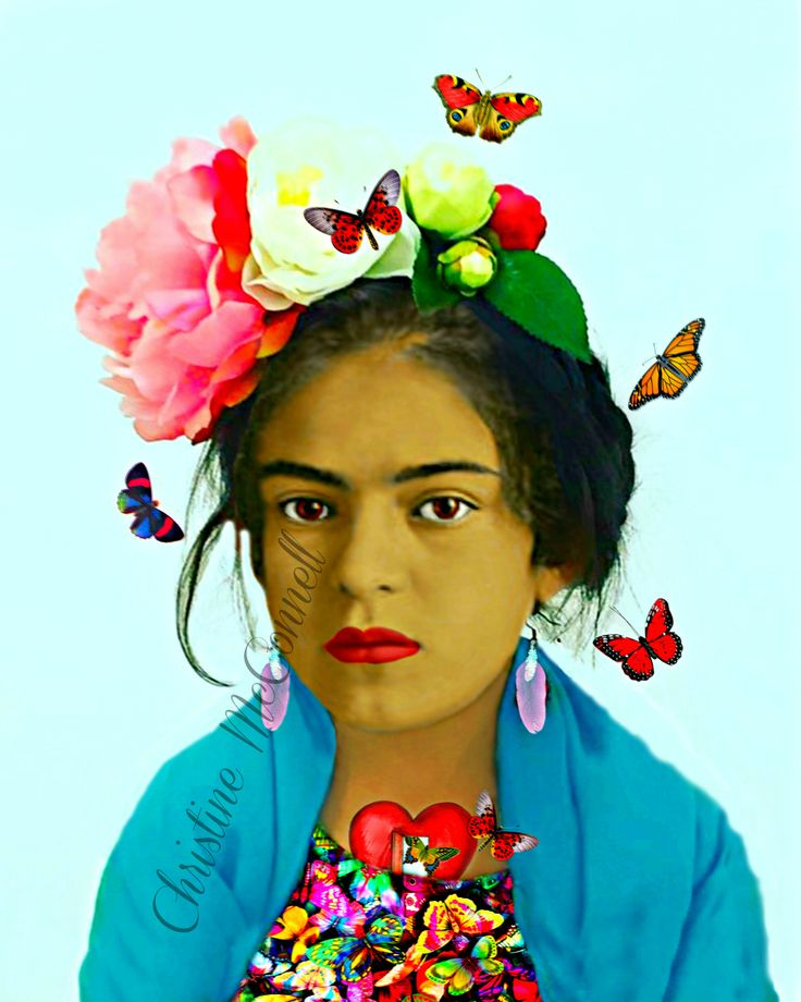 165 besten frida kahlo inspired art bilder auf pinterest. Black Bedroom Furniture Sets. Home Design Ideas